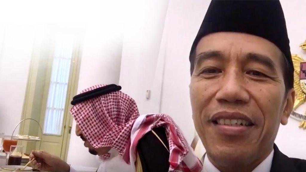YouTube Komentari Vlog Presiden Jokowi dan Raja Salman