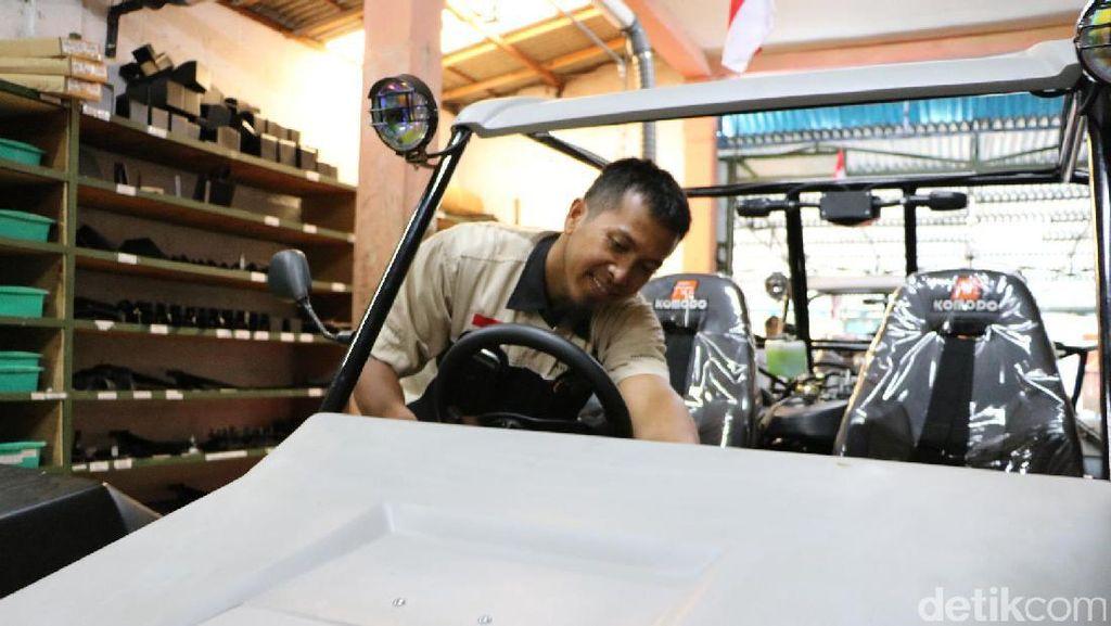 Ini Dia Proses Pembuatan Mobil Nasional Komodo