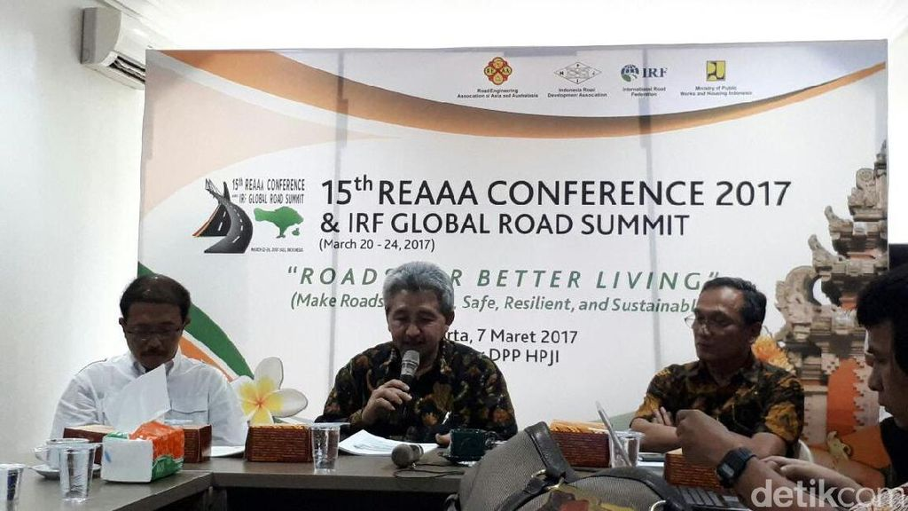 Ahli Bangun Jalan se-Asia Australia Bertemu di Bali Bulan Ini