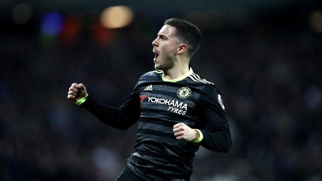 Berminat Datangkan Hazard, Madrid Diyakini Butuh Duit Rp 1,6 T