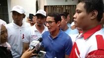 Temui Prabowo, Sandiaga Bahas Evaluasi 4 Hari Kampanye