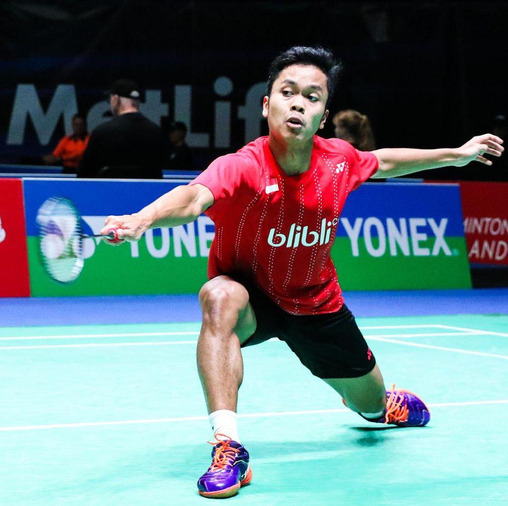 Anthony Menang, Indonesia Ungguli Denmark 2-0