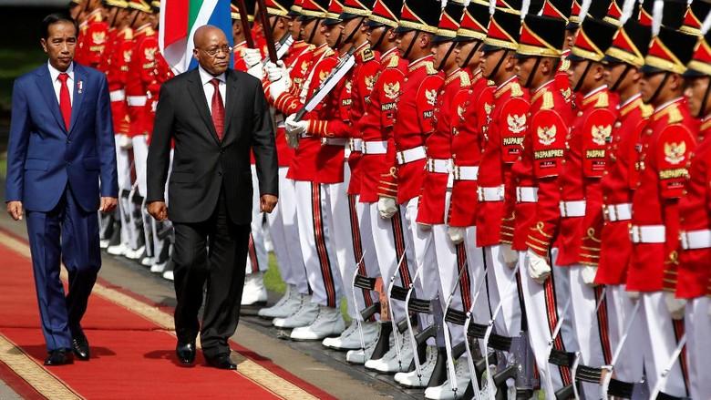 Jokowi Terima Kunjungan Presiden Afrika Selatan