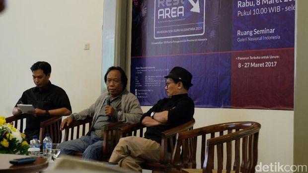 100 Seniman dari 26 Provinsi Tampil di Pameran Seni Rupa Nusantara 2017