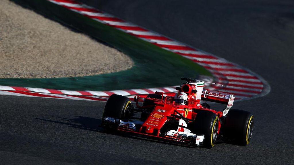 Jet-Jet Darat Vettel: Dari Julie Hingga Gina
