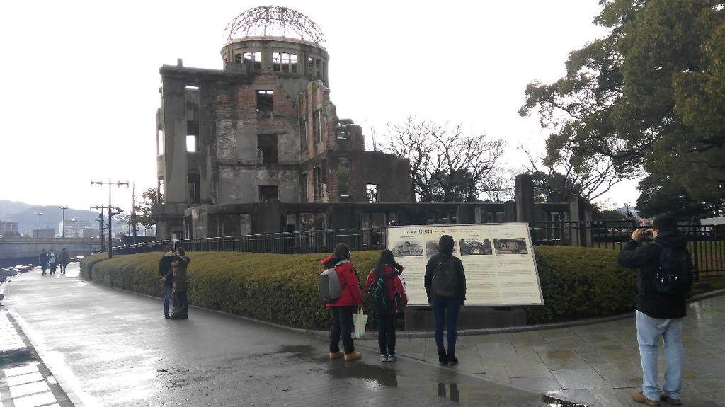 Potret Sedih Korban Bom Atom di Museum Perdamaian Hiroshima