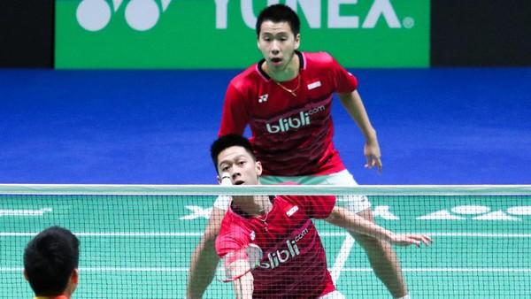 Head to Head Kevin/Marcus Vs Li Jinhui/Liu Yuchen