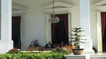 Jokowi Sambut Presiden Afrika Selatan dengan Upacara Kenegaraan