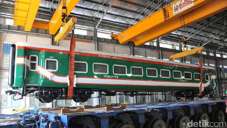 Bukti Bangladesh Kepincut Kereta RI: INKA 3 Kali Menang Tender
