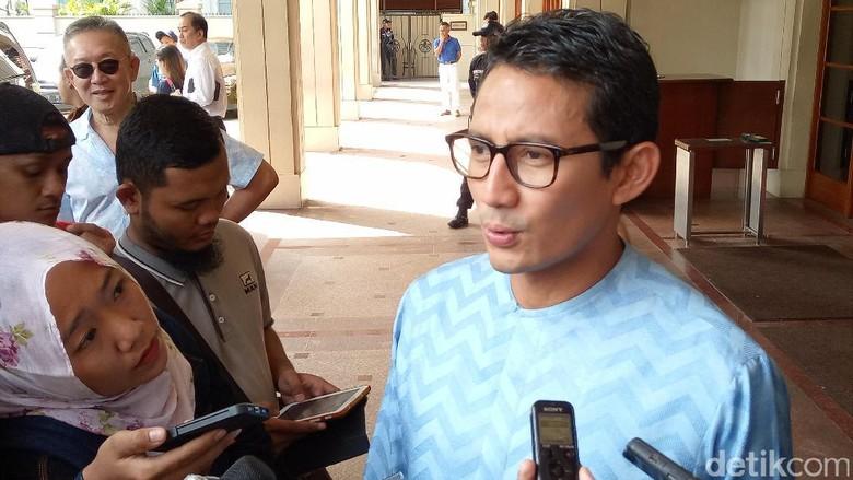 Ahok Kampanye Senyap, Sandiaga: Mungkin ke Tokoh Bisnis