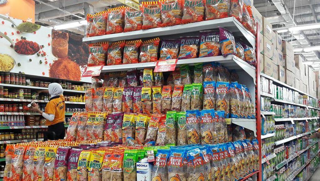 Beli Kerupuk Gratis Sambal di Transmart dan Carrefour
