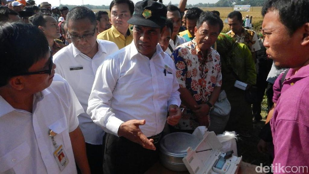 Mentan: 30.000 Embung Dibangun di Seluruh Indonesia Tahun Ini