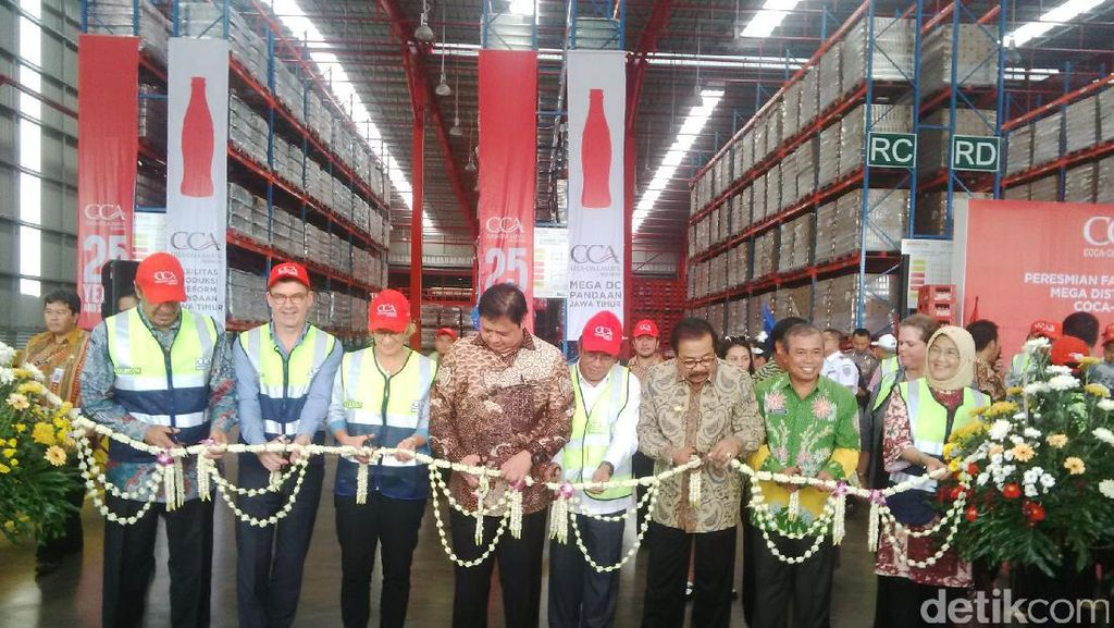 Menperin Tagih Janji Investasi Coca Cola Rp 6,6 Triliun