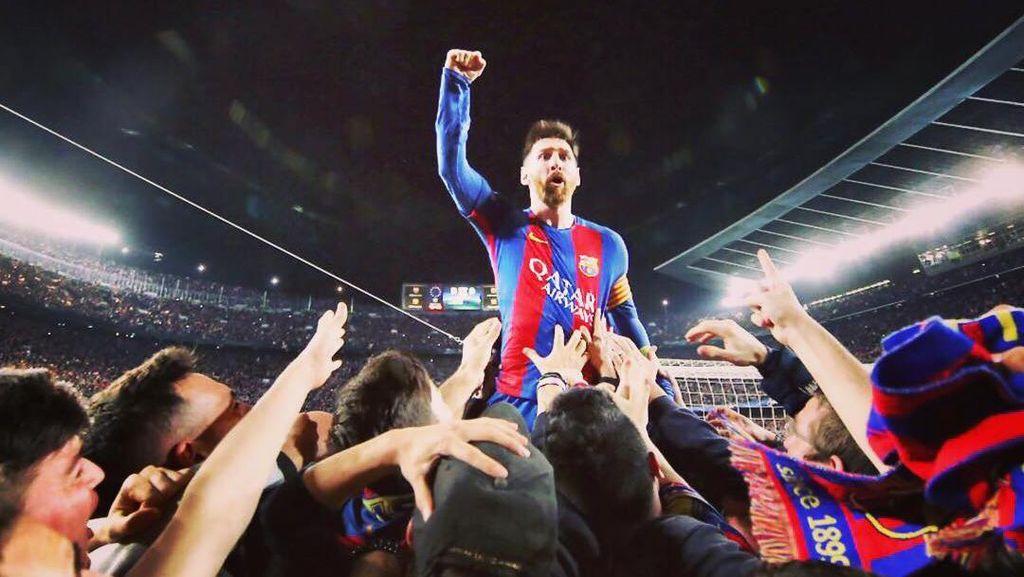 Fabregas: Meski Sudah Jadi Bintang, Messi Tetap Rendah Hati