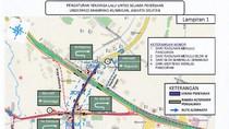 Ada Proyek Underpass Mampang-Kuningan, Kendaraan Bisa Lewat Sini