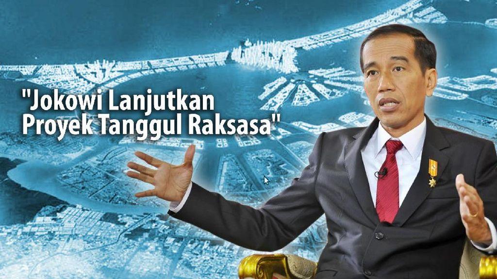 Tanggul Raksasa Jokowi Bisa Beda dengan Rancangan SBY