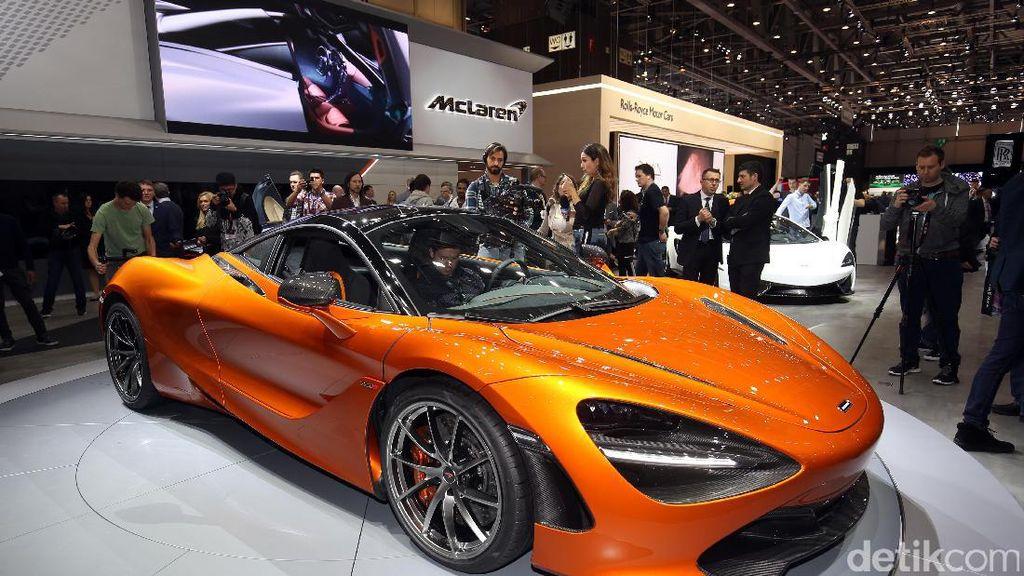 Lebih Dekat dengan Jet Tempur McLaren 720S