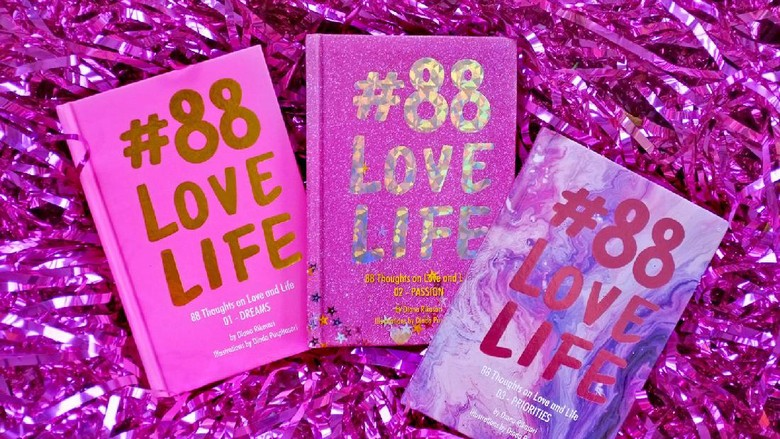 Buku #88LOVELIFE Vol.03 Diana Rikasari Juga Rilis di Malaysia