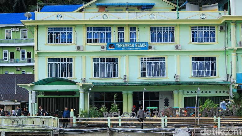 Terempak Beach Hotel and Residence di Anambas (Randy/detikTravel)