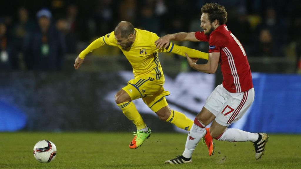 MU Imbang dengan Rostov 1-1