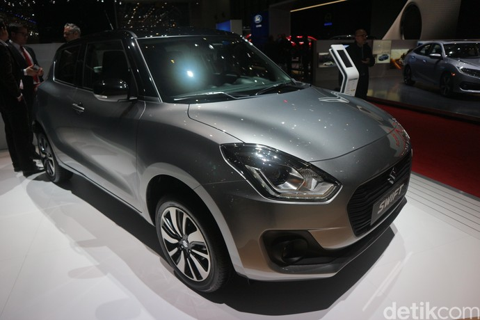 Lekukan All New Swift