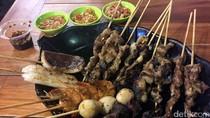 Di Bandung Ada Sate Paru dan Kulit Ayam yang Enak Dicocol Sambal Pedas