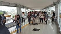 JPO Stasiun Tanah Abang Mulai Diuji Coba Hari Ini