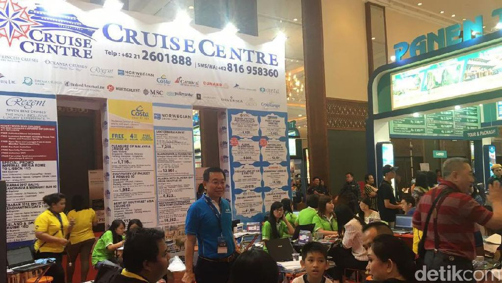 Berburu Tiket Kapal Pesiar di Garuda Travel Fair, Berapa Tarifnya?