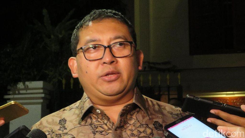 Revisi UU KPK Ditolak, Fadli Zon: Itu Jadi Bahan untuk Bersikap