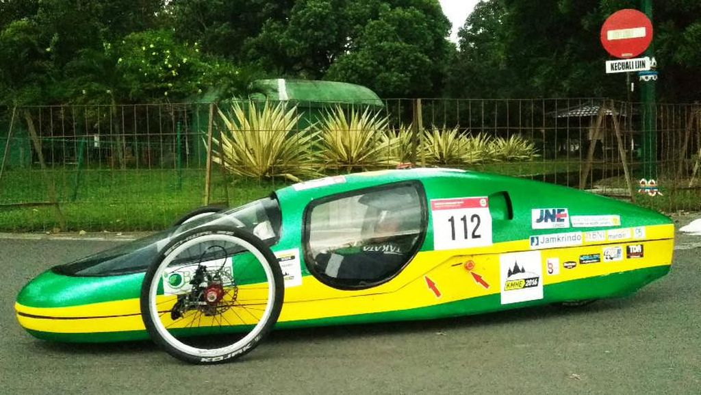Mesin Sepeda Motor Dipakai untuk Kendaraan Super Irit