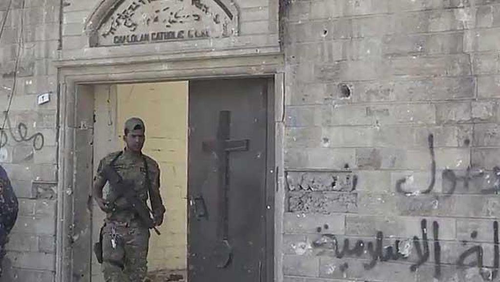 Gereja di Mosul Irak Sempat Dijadikan Markas Polisi Syariah ISIS