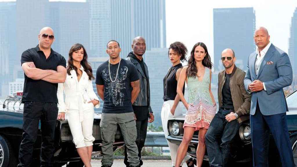 Wow! 'Fast and Furious 8' Tembus 1 Miliar Dolar