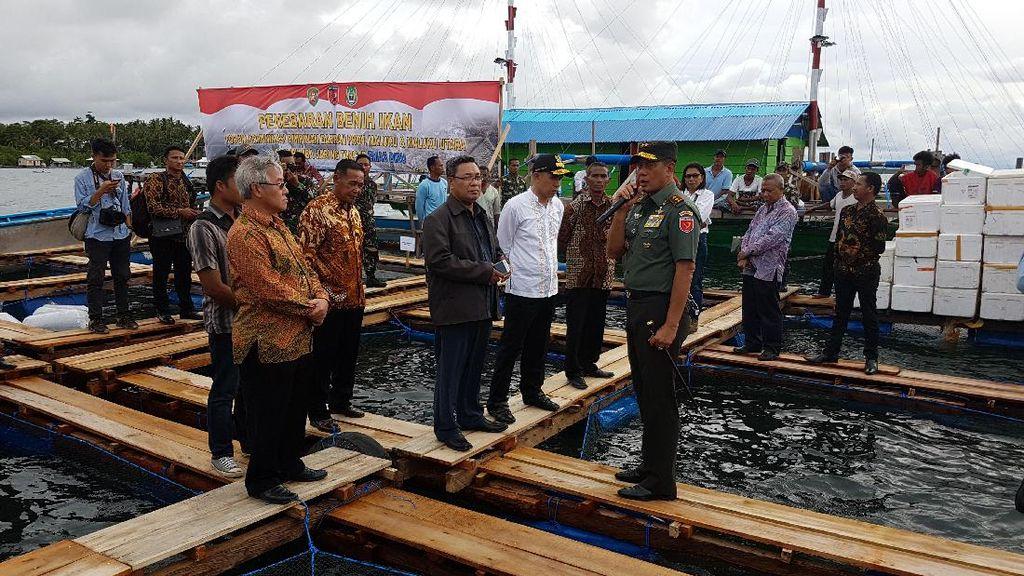 Pangdam Pattimura Perjuangkan Emas Putih untuk Maluku