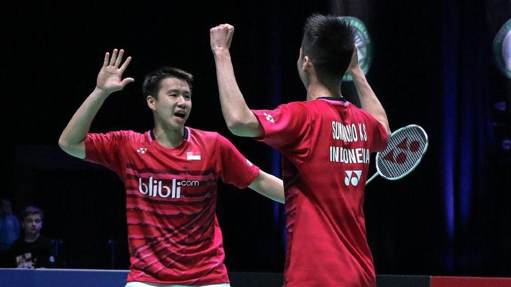 Indonesia Segrup dengan Denmark dan India di Piala Sudirman