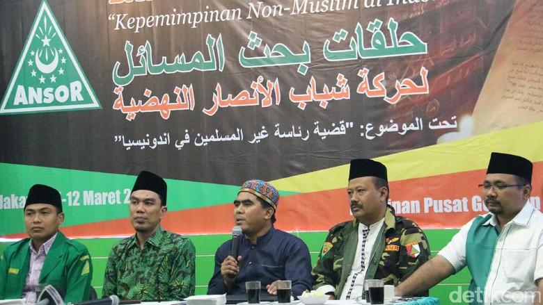GP Ansor Bolehkan Non Muslim jadi Pemimpin