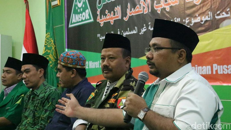 Sikap GP Ansor soal Memilih Pemimpin Nonmuslim