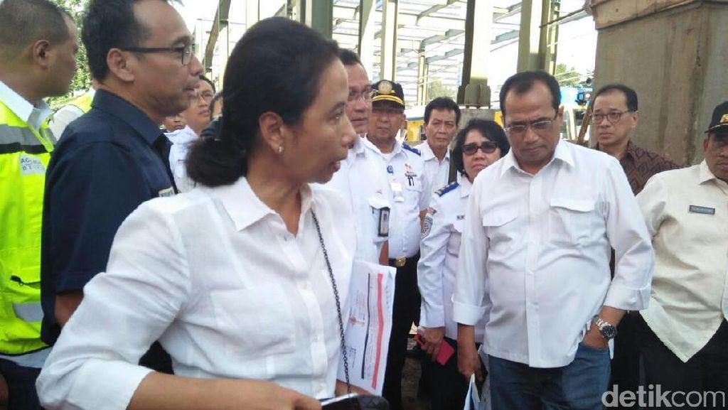 Ada Kereta, Rini Soemarno: Manggarai-Bandara Soekarno Hatta Cuma 54 Menit