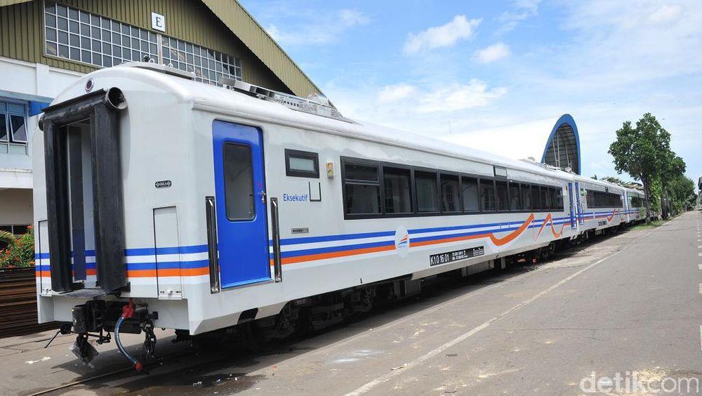 Ini Penampakan Kereta Bandara Soetta Made in Madiun