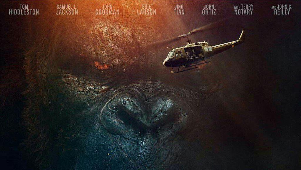 Kong: Skull Island: Amukan Si Legenda yang Masih Membahana