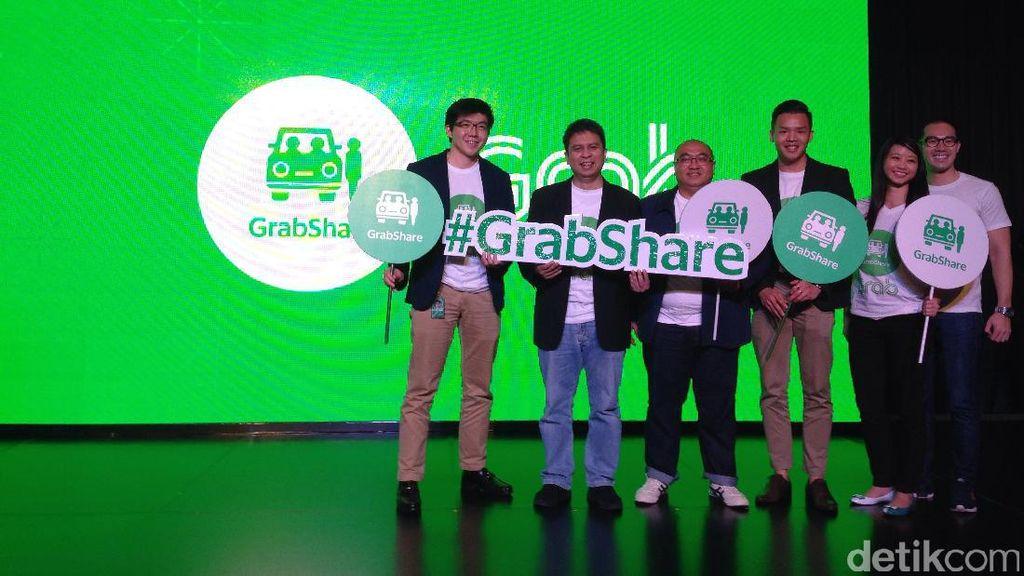 GrabShare, Cara Grab Atasi Macet Jakarta.