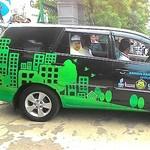 Arcandra Lepas 6 Mobil dan 2 Bajaj Keliling Jakarta Pakai Gas