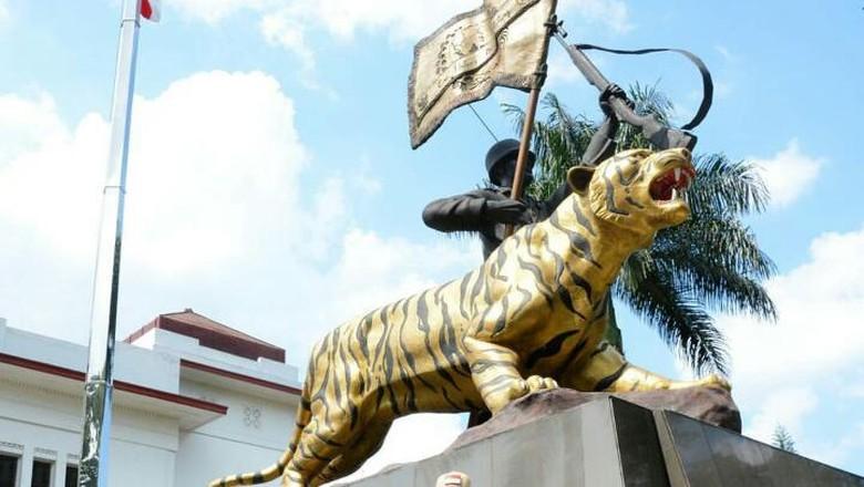 Macan Simbol Kodam Siliwangi, Pangdam: Patung Harus Dibuat Mirip