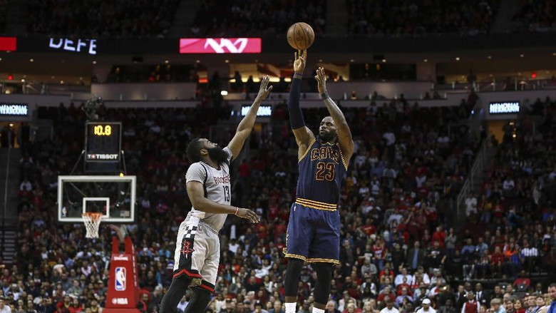 Harden Triple-Double, Rockets Kandaskan Cavaliers