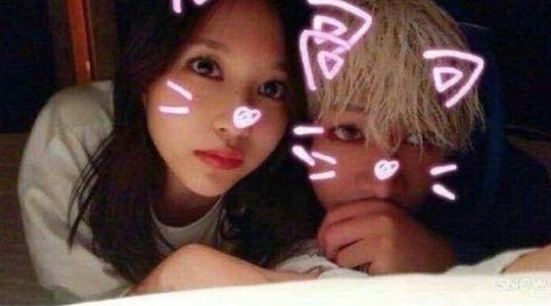 Beredar Foto Mina TWICE dan BamBam GOT7 di Tempat Tidur, Ini Kata JYP