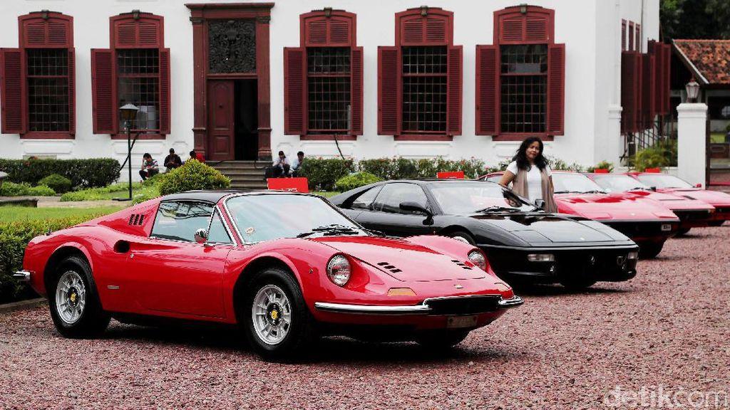 Cerita di Balik 10 Mobil Klasik Ferrari