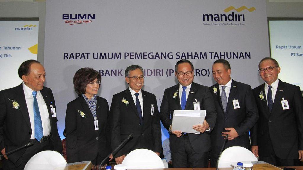 RUPST Bank Mandiri Bagi-bagi Dividen Rp 6,2 Triliun