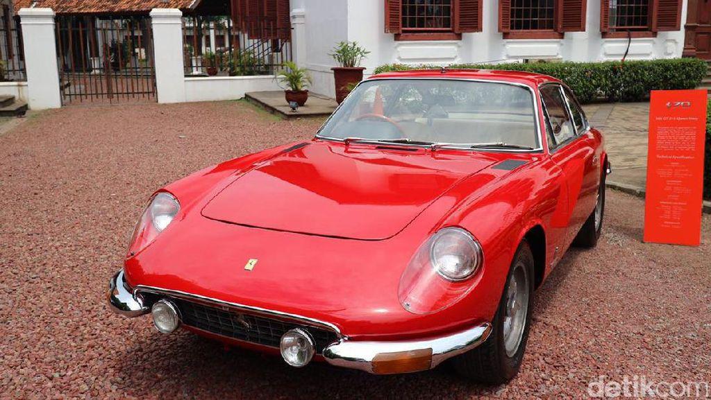 10 Mobil Klasik Ferrari di Gedung Arsip Nasional Milik Orang RI