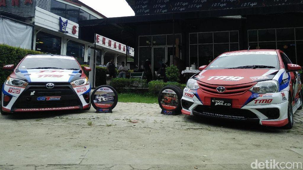 Toyota Andalkan Agya, Etios Yaris di Kompetisi Balap Nasional