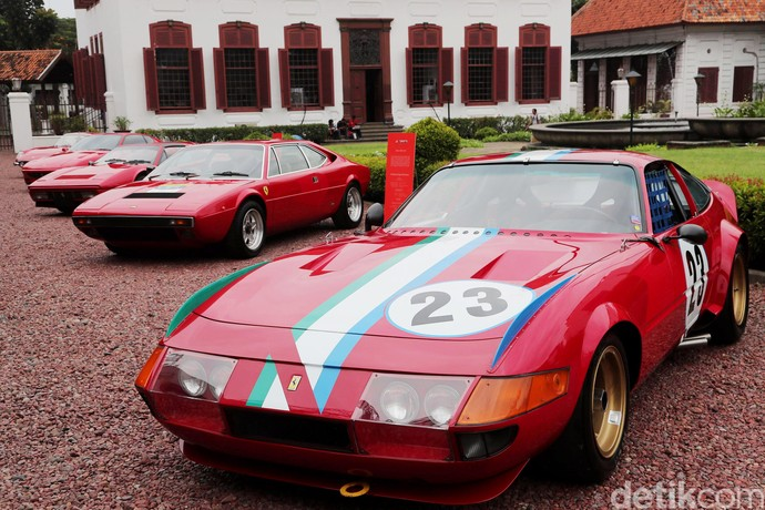 10 Mobil Klasik Ferrari di Peringatan ke-70 Tahun