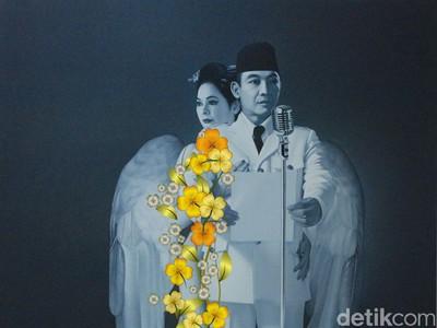 Harga Lukisan Under My Umbrella Sukarno Terjual Hingga Rp 350 Juta